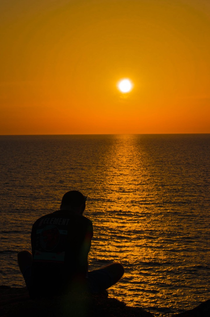 Il tramonto più bello dell'estate.